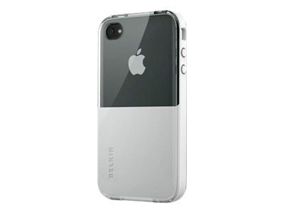Belkin Shield Eclipse Case for iPhone 4, White Pearl, F8Z621TT146, 11733779, Carrying Cases - Phones/PDAs