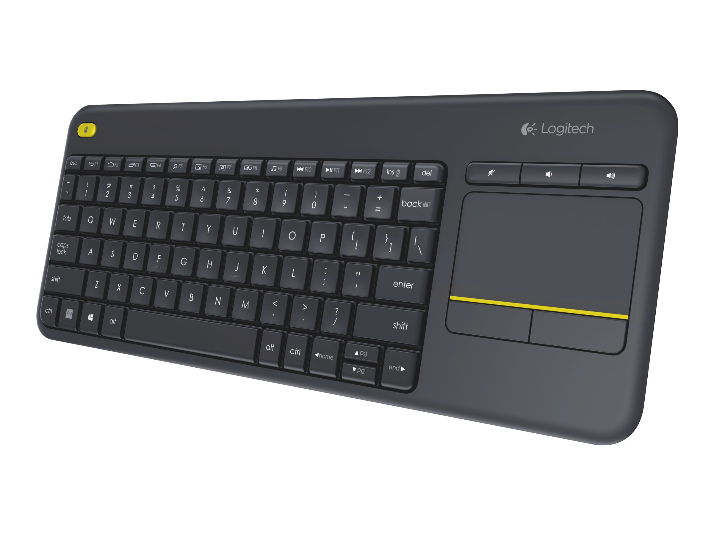 Logitech Wireless Touch Keyboard K400 Plus, 920-007119
