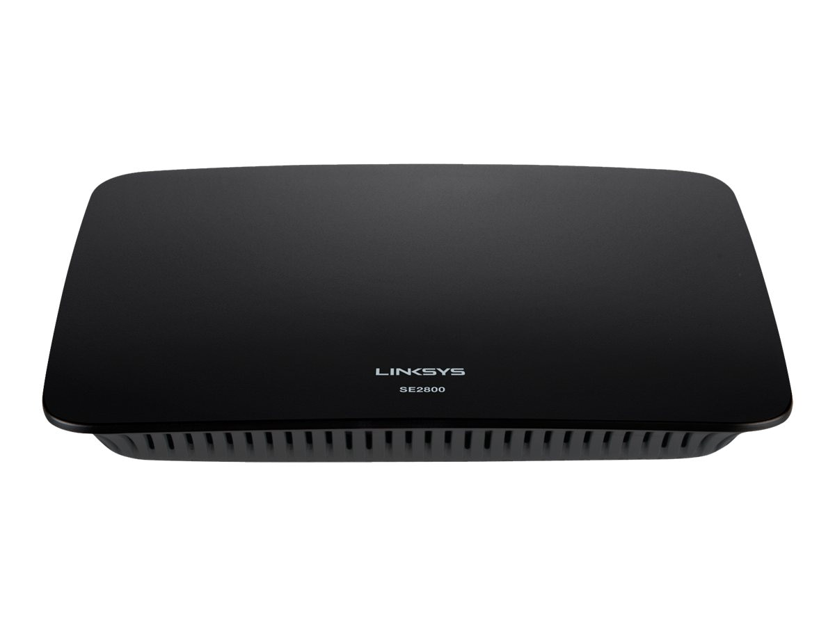 Linksys SE2800 8-Port Gigabit Ethernet Switch, SE2800-NP, 16369831, Network Switches