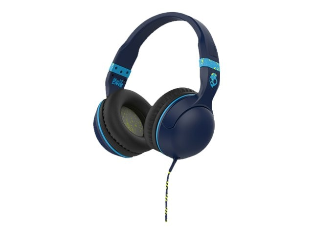 Skullcandy Hesh 2 Headphones w  Mic1 - Rasta Green Black, S6HSGY-410, 23836783, Headsets (w/ microphone)
