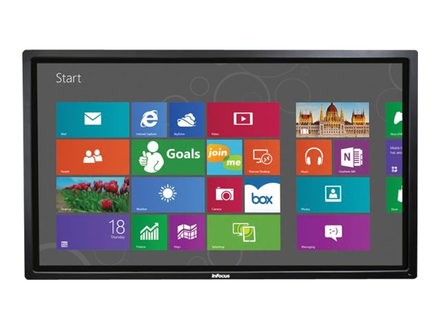 InFocus 70 BigTouch Full HD LED-LCD Touchscreen Display, Black, INF7011, 16247104, Monitors - Large-Format LED-LCD