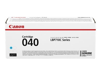 Canon CRG040 Cyan Toner Catridge for LBP712Cdn, 0458C001