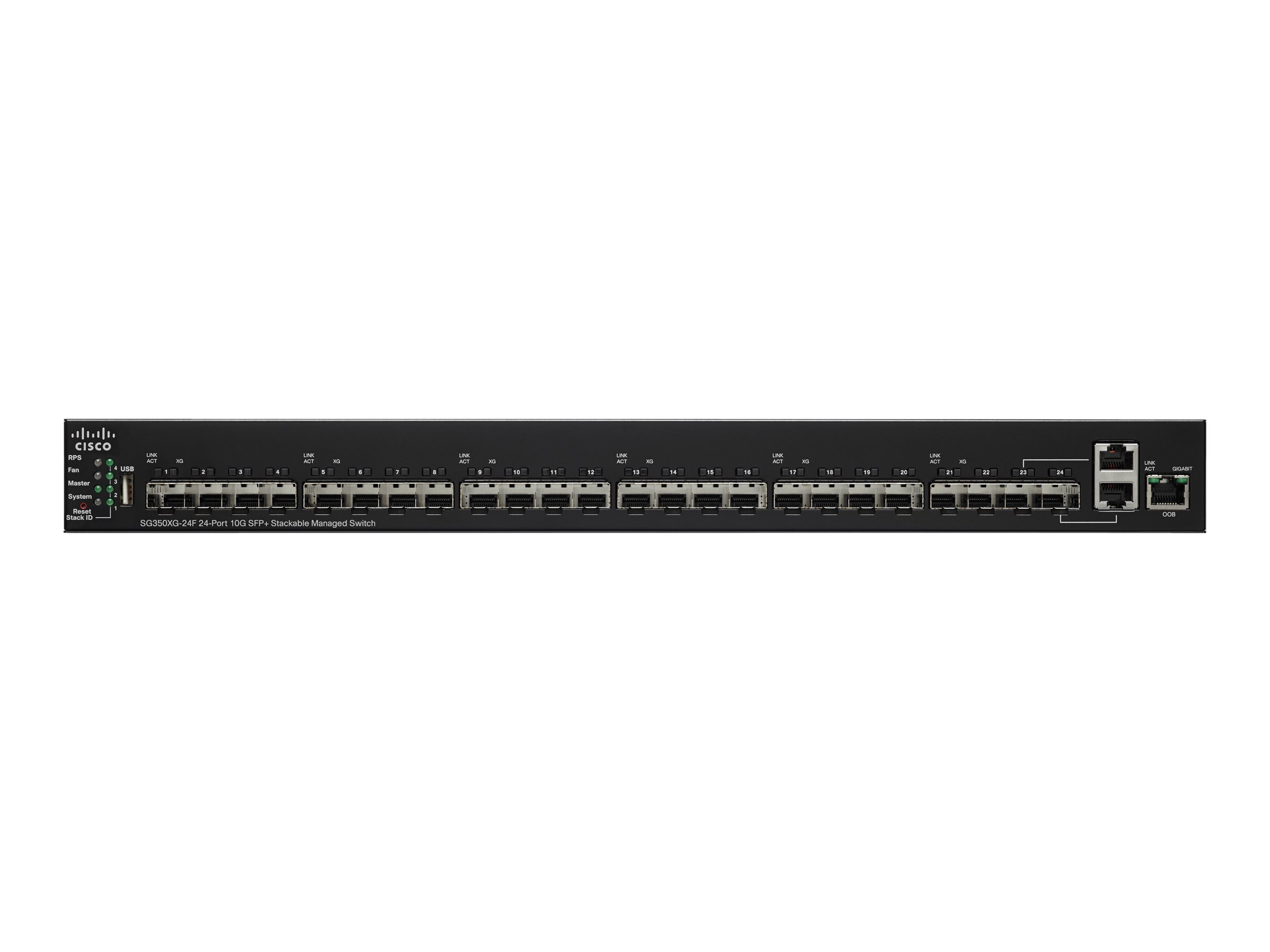 Cisco SG350XG 24F 24-Port Switch, SG350XG-24F-K9-NA
