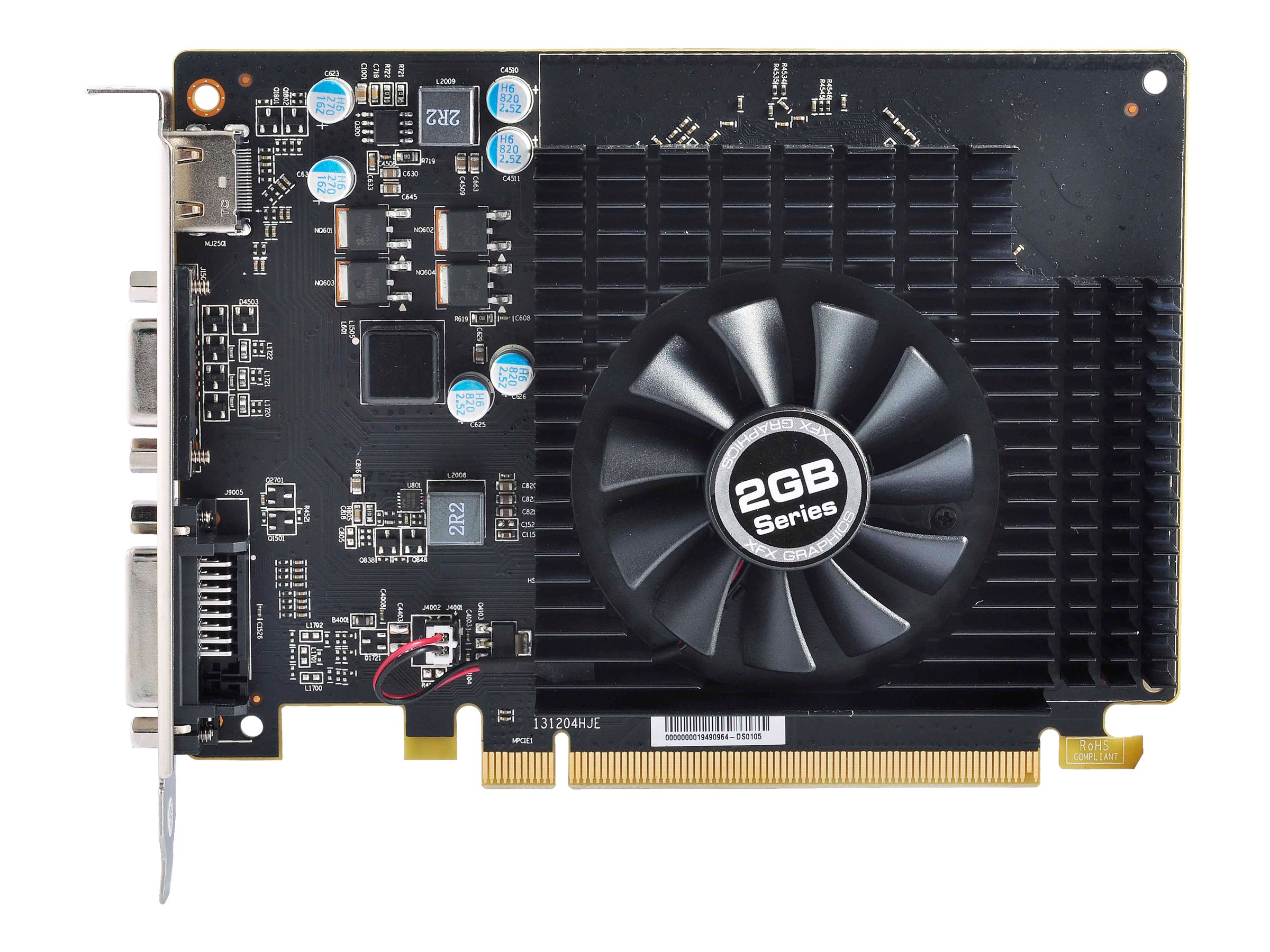 Pine Radeon R7240 PCIe 3.0 Graphics Card, 2GB DDR3