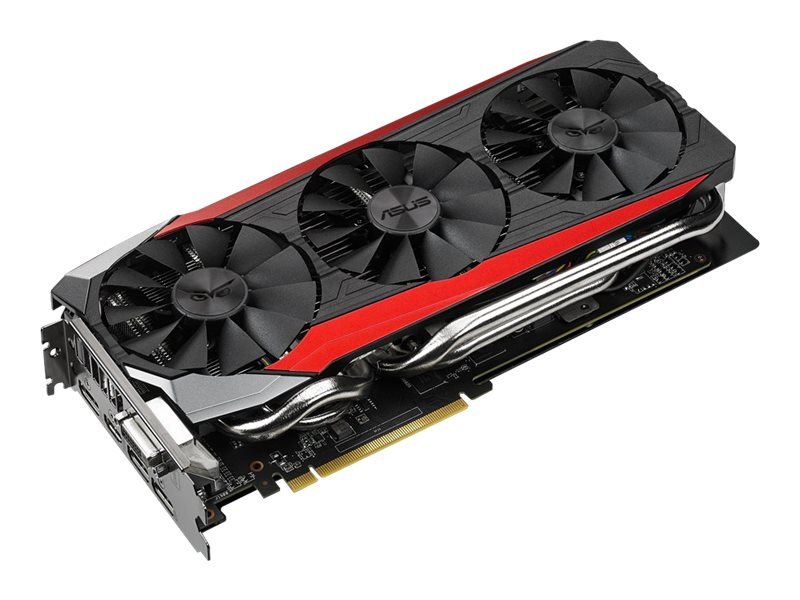 Asus Radeon R9 390 PCIe 3.0 Overclocked Graphics Card, 8GB GDDR5, STRIXR9390DC3OC8GD5G, 26838717, Graphics/Video Accelerators