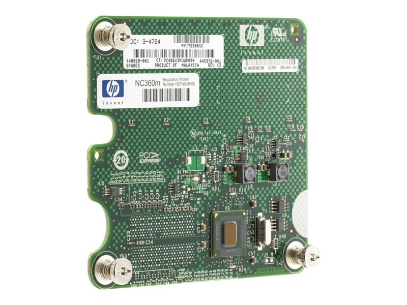 HPE NC360m Dual Port 1GbE BL-c Adapter