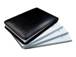 3x5 Flip Notepad #1-4, Black, 4-Pack, ANA-00037, 33522702, Office Supplies