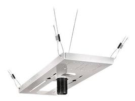 Peerless Lightweight Suspended Ceiling Kit for Projectors, White, CMJ500R1, 12399741, Stands & Mounts - AV