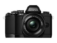 Olympus OM-D E-M10 Mirrorless Micro Four Thirds Digital Camera, Black (Body Only), V207020BU000, 16793105, Cameras - Digital - Point & Shoot