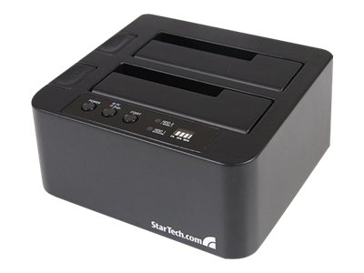 StarTech.com eSATA USB to SATA Standalone Hard Drive Duplicator Dock, SATDOCK22RE, 11955064, Hard Drive Duplicators