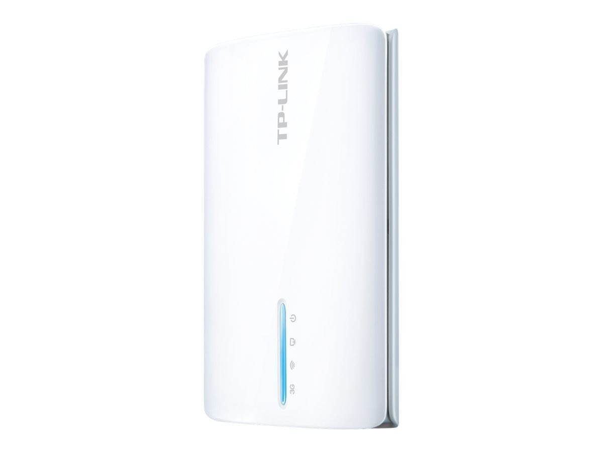 TP-LINK 3G 4G Wireless N150 Portable Router, Battery Power, AP WISP Router, Compatible w  certain USB Modems, TL-MR3040