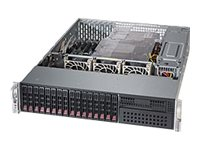Supermicro Barebones, SuperServer 2028R-C1RT4+ 2U RM (2x)E5-2600 v3 Family Max.1.5TB DDR4 8x2.5SAS+8x2.5SATA, SYS-2028R-C1RT4+, 17821841, Barebones Systems
