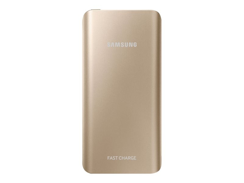 Samsung Fast Charge Battery Pack, 5200mAh, Gold, EB-PN920UFEGUS