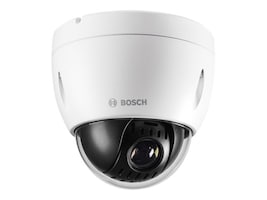 Bosch Security Systems AutoDome IP 4000 HD 12x 720p HD Camera with Indoor Housing, Clear Bubble, NEZ-4112-PPCW4, 28341974, Cameras - Security