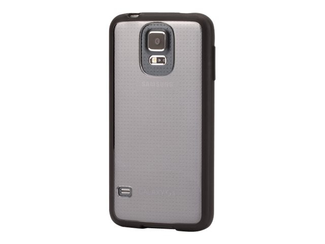 Griffin Reveal Case for Galaxy S5, Black Clear, GB39050-2, 23515699, Carrying Cases - Phones/PDAs