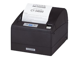 Citizen CBM CT-S400 Thermal USB Serial POS Printer (Black), CT-S4000RSU-BK, 7581661, Printers - POS Receipt