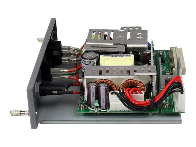 StarTech.com 200W Redundant Power Supply Module for ETCHS2U Media Converter Chassis, ETCHS2UPSU