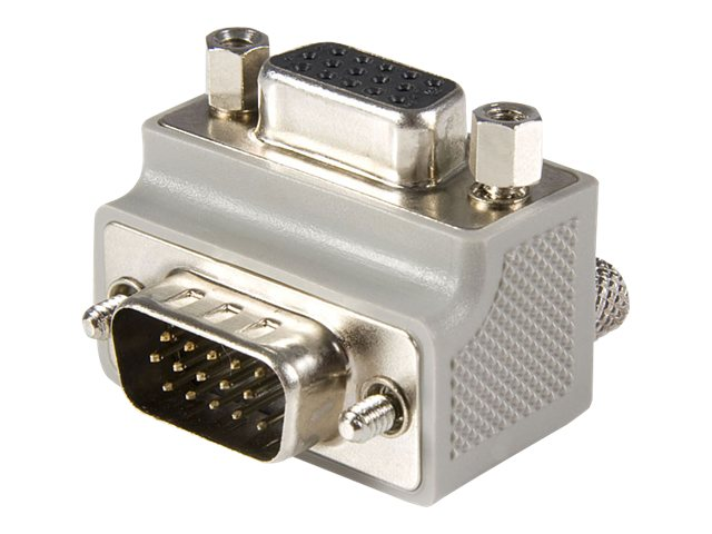 StarTech.com VGA Right Angle Adapter, HD-15 (M-F), Position Type One