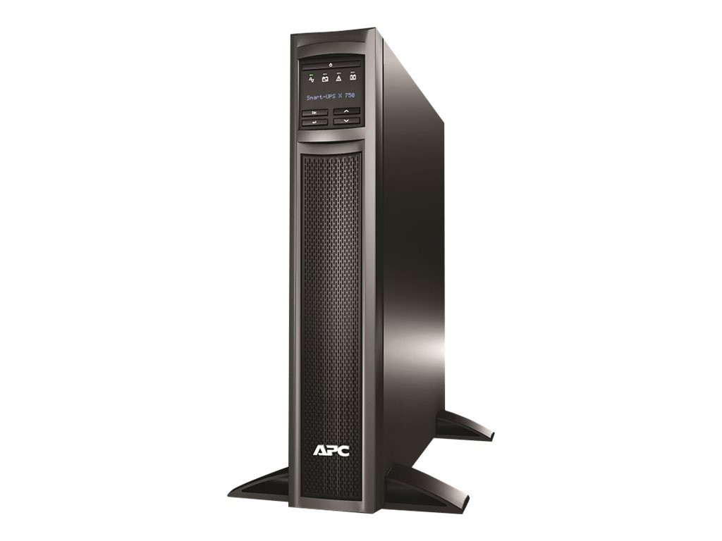 APC Smart-UPS X 750VA 600W Rack Tower LCD 120V UPS (8) Outlets, AP9630 NMC, SMX750-NMC, 15908775, Battery Backup/UPS