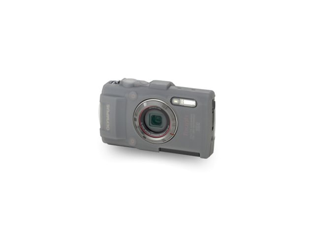 Olympus Silicone Jacket, Gray, for Tough TG-3 Digital Camera, V600082XW000