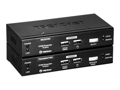TRENDnet KVM Extension Kit, TK-EX4