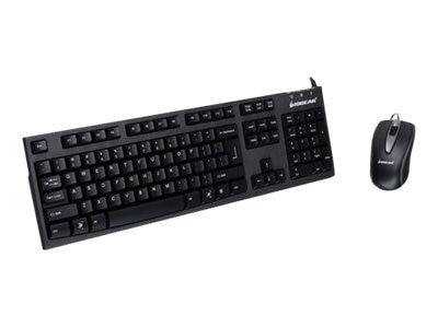 IOGEAR Spill-Resistant Keyboard and Mouse Combo, GKM513