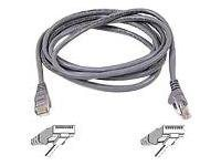 Belkin FastCAT 5e Patch Cable, Gray, Snagless, 25ft, A3L850-25-S, 110713, Cables
