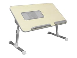 Aluratek Adjustable Ergonomic Laptop Cooling Table with Fan, ACT01F, 32903095, Cooling Systems/Fans