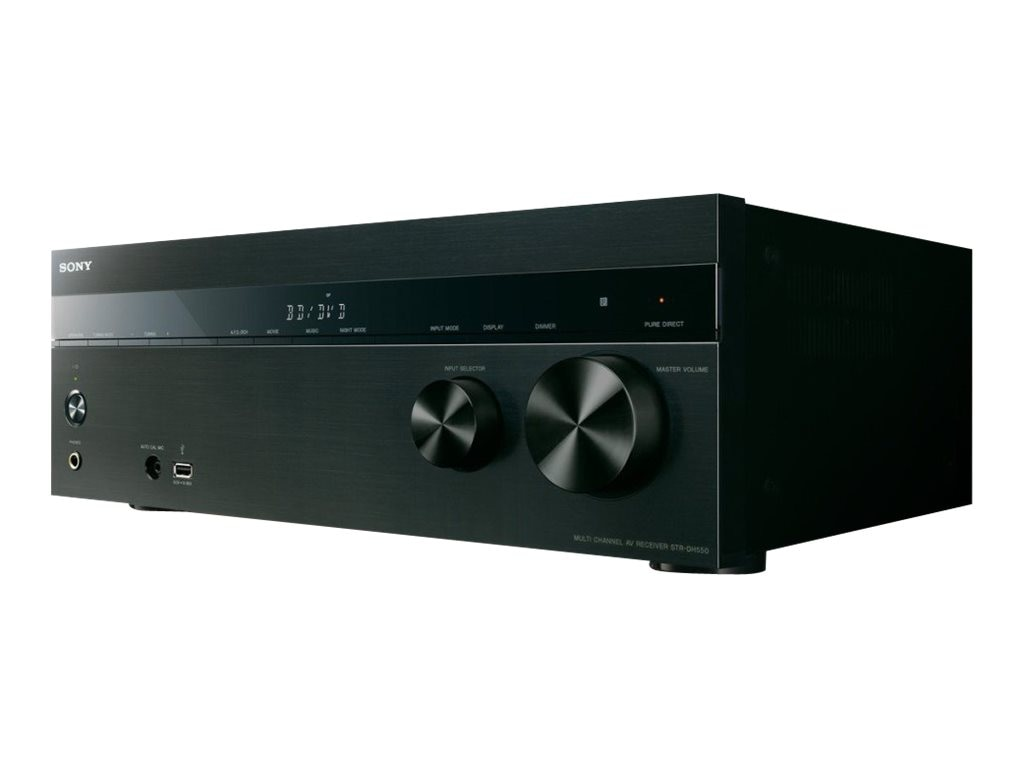 Sony 5.2-Channel 4K AV Receiver, STRDH550, 17234006, Home Theatre Systems