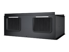APC Vertical Exhaust Duct Kit for SX Enclosure Overhead Cable Extension 600mm, AR7755, 13013476, Rack Cooling Systems