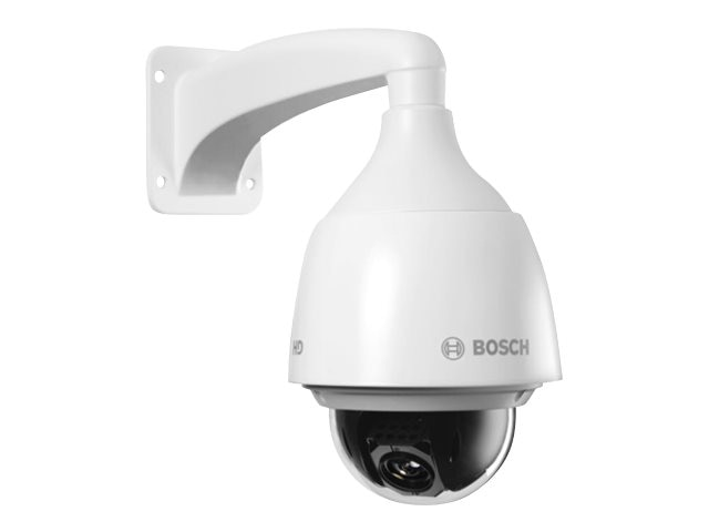 Bosch Security Systems AutoDome IP 5000 HD 30x 720 HD Camera with Outdoor Housing, Clear Bubble, Sunshield, NEZ-5130-EPCW4, 28342029, Cameras - Security