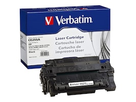 Verbatim CE255A Remanufacrured Toner Cartridge, 99226, 30839481, Toner and Imaging Components