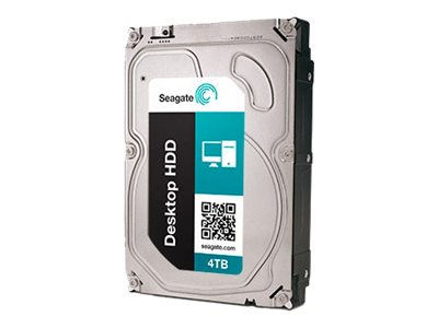 Seagate 4TB Desktop HDD.15 SATA 6Gb s  3.5 Internal Hard Drive - 64MB Cache, ST4000DM000, 15401843, Hard Drives - Internal