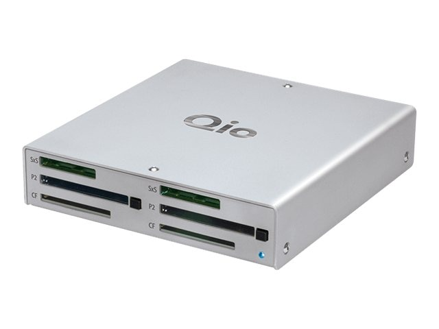 Sonnet Qio Professional Universal Media Reader with Thunderbolt Adapter, QIO-TB, 15694210, PC Card/Flash Memory Readers