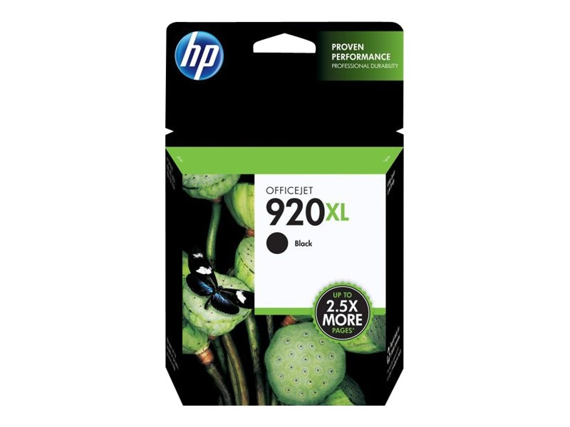 HP 920XL (CD975AN) High Yield Black Original Ink Cartridge