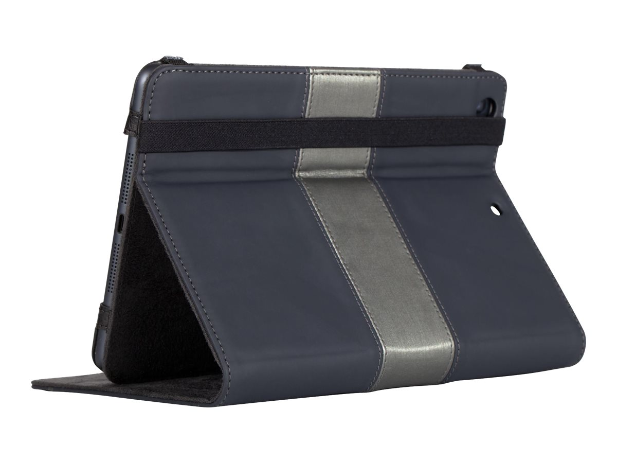 Targus Foliostand for iPad mini, Black Pewter, THZ37213US