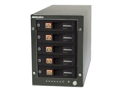 Addonics Secure NAS R5, SN535E1G, 16289371, Network Attached Storage