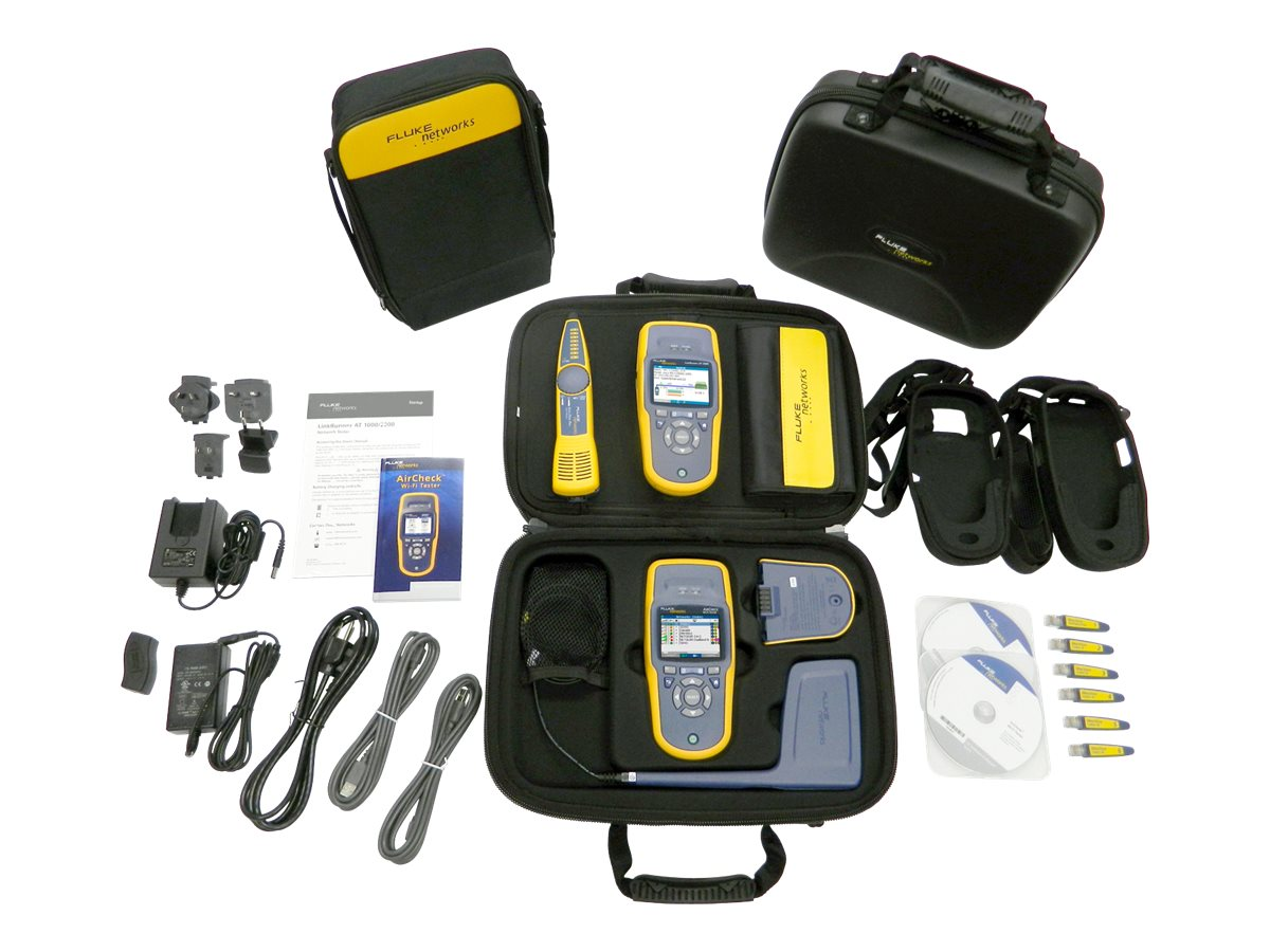Fluke Network Tech Troubleshotting Kit with ACK LRAT 2000, ACK-LRAT2000, 13693985, Network Test Equipment