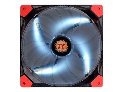 Thermaltake Luna 14 White LED Silent Case Fan, 140x140x25mm