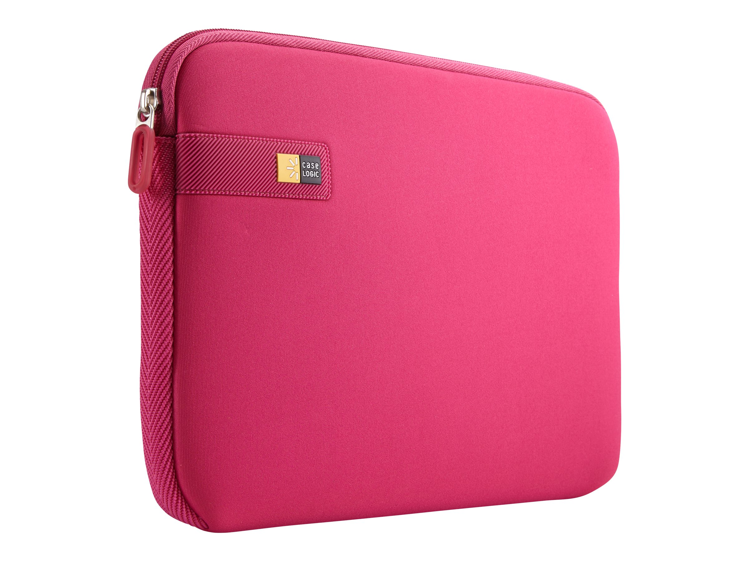 Case Logic Chromebooks Ultrabooks Sleeve 10-11.6, Pink, LAPS-111PINK, 17365356, Protective & Dust Covers