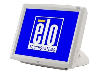 ELO Touch Solutions 1529L 15 LCD AccuTouch USB I O USB Hub Customer Display KBW MSR Short Stand Dark Gray, E580588, 9810860, POS/Kiosk Systems