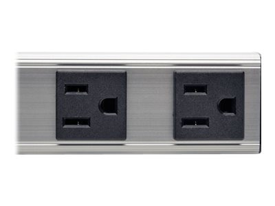 Tripp Lite Power Strip, 12, 120V 15A, 5-15P Input, 6ft Cord, (4) 5-15R Outlets, PS120406