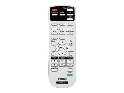 Epson Replacement Projector Remote Control, 1547200, 15243671, Remote Controls - Presentation