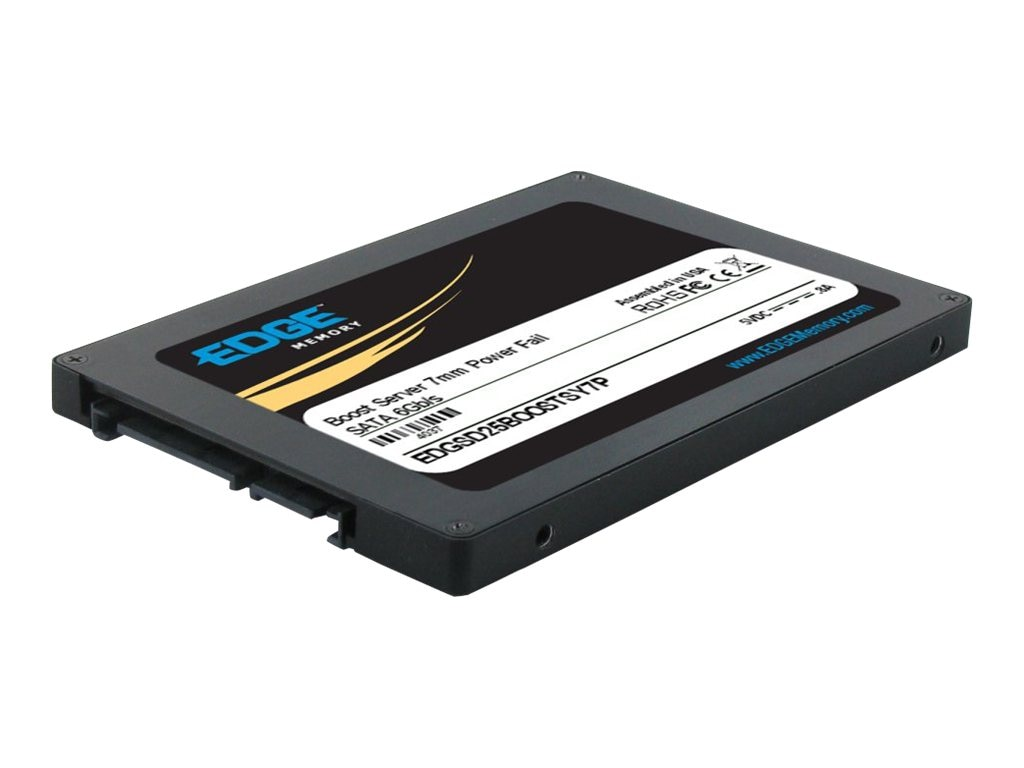 Edge 360GB Boost Server SATA 6Gb s 2.5 7mm Internal Solid State Drive, PE240042, 16493663, Solid State Drives - Internal