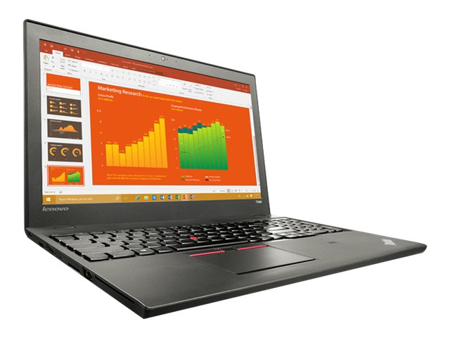Lenovo TopSeller ThinkPad T560 2.3GHz Core i5 15.6in display, 20FH001QUS