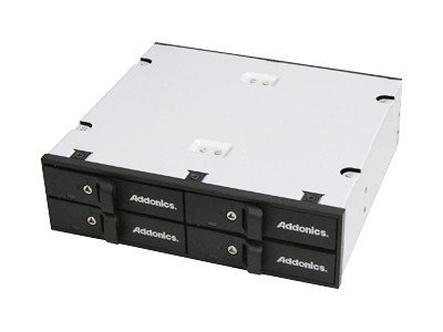 Addonics Snap-In 4-Bay 2.5 SATA Hard Disk Array, AESN4DA25, 13258334, Hard Drive Enclosures - Multiple