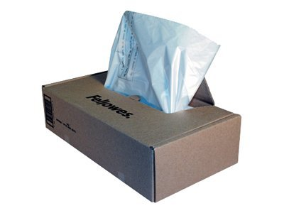 Fellowes Powershred Waste Bags for General Office Shredders, 50 Pack, 3605801, 7506362, Office Supplies