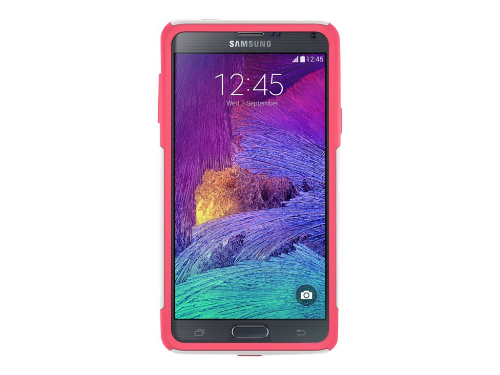 OtterBox Commuter Series for Samsung Galaxy Note 4, Neon Rose