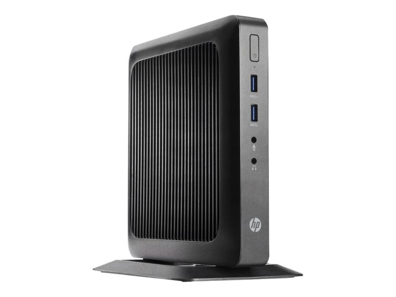 HP t520 Flexible Thin Client AMD DC GX-212JC 1.2GHz 4GB RAM 16GB Flash GbE WE864, G9F12AA#ABA