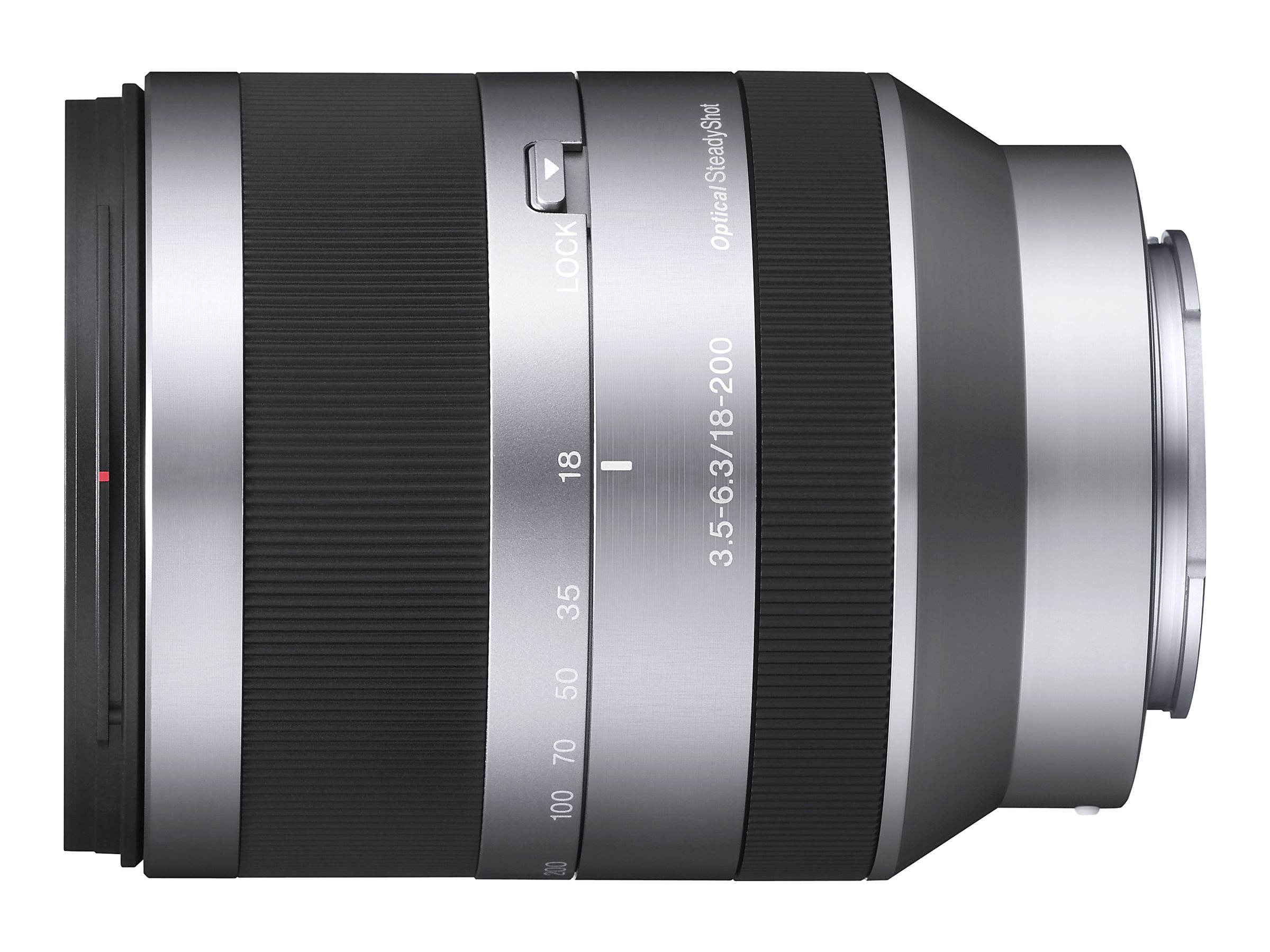 Sony NEX E-Mount Lens 18-200mm F3.5-6.3, SEL18200